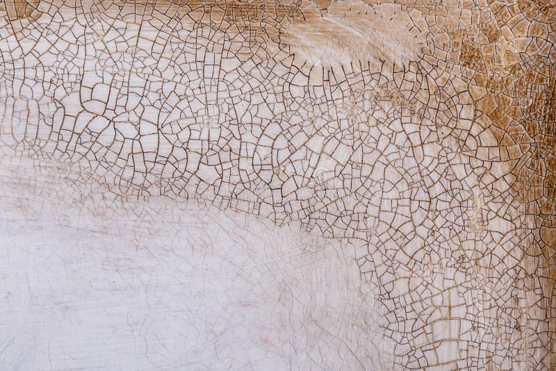 Achtergrondtextuur van de oude barst houten verf royalty-vrije stock fotografie