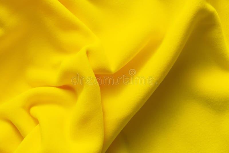 Achtergrondtextuur van gele vacht royalty-vrije stock fotografie