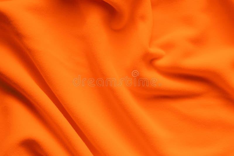 Achtergrondtextuur van heldere oranje vacht stock afbeelding