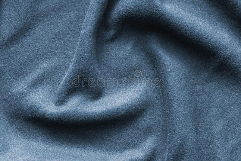 Achtergrondtextuur van lichtblauwe vacht royalty-vrije stock foto's