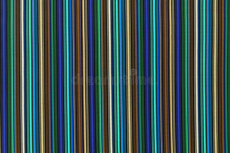 Achtergrondtextuur van stof met gekleurde dwarsstreep vector illustratie