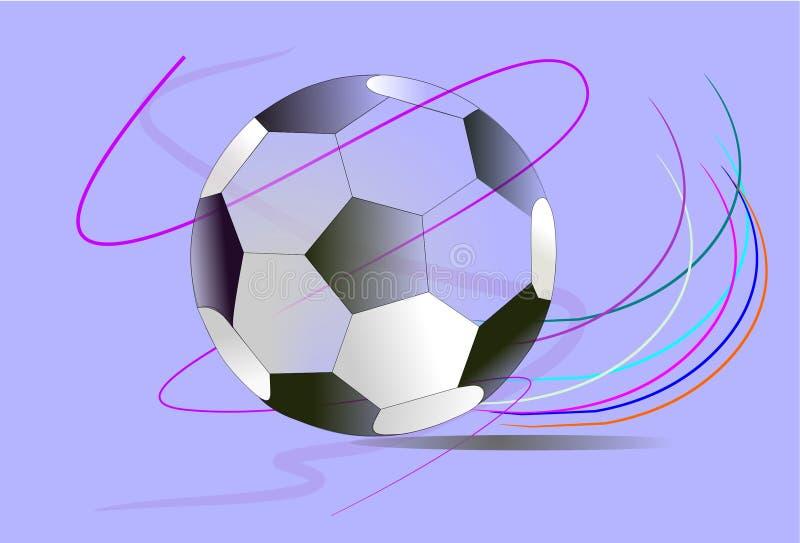 Achtergrondvoetbalart. vector illustratie