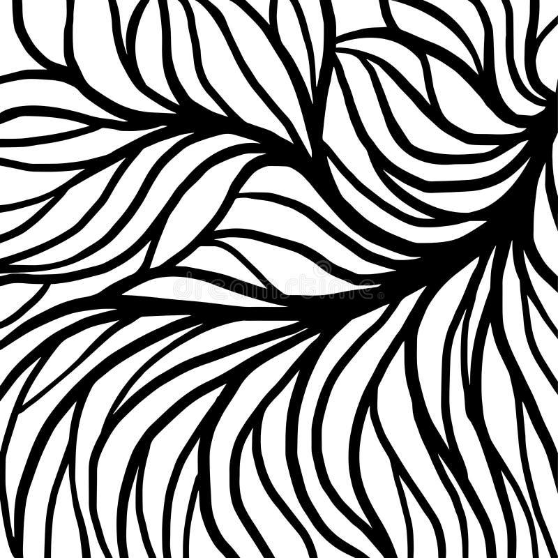 Achtergrondwortel voor druk en abstracte grafiek stock illustratie