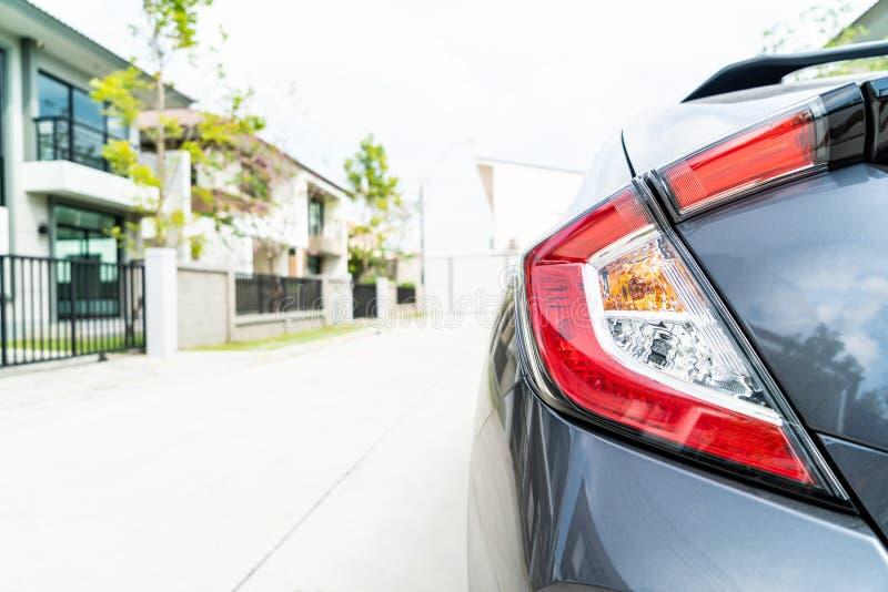 Achterlichten van een auto royalty-vrije stock afbeeldingen