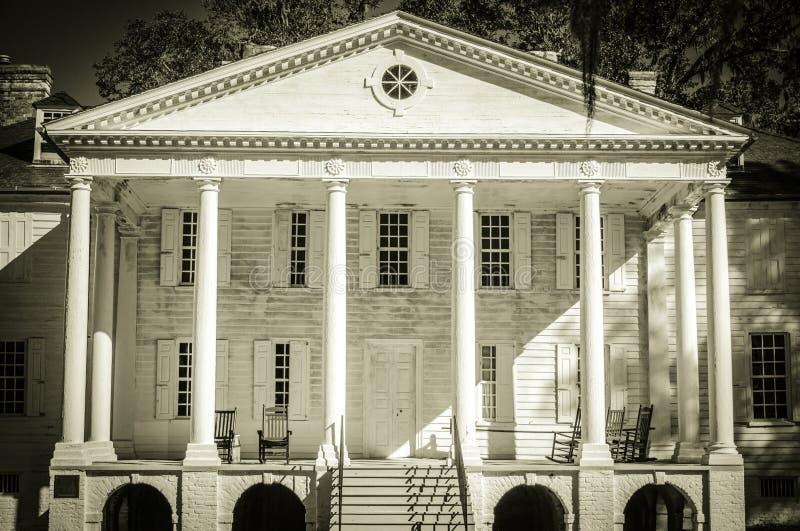Achtervolgd Hampton Plantation stock afbeeldingen