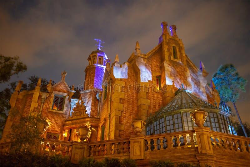 Achtervolgd Herenhuis, Disney World, Magisch Koninkrijk, Reis stock fotografie