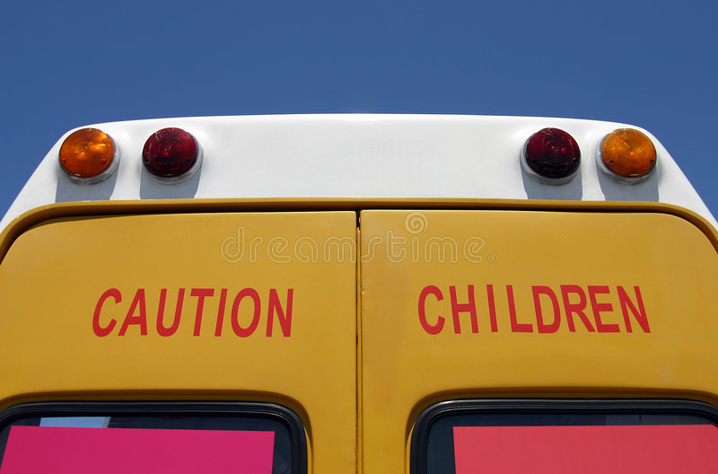 Achtung-Kinder! lizenzfreies stockbild