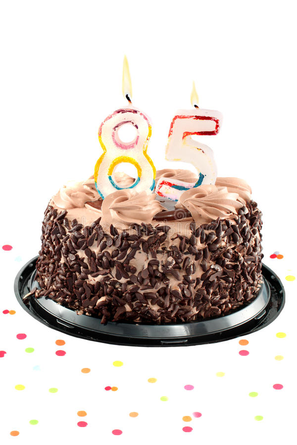 Achtzig fünfter Geburtstag oder Jahrestag lizenzfreie stockbilder