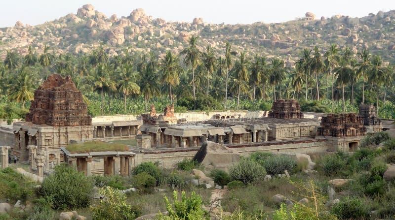 AchyutaRaya tempel på Vijayanagara royaltyfri foto