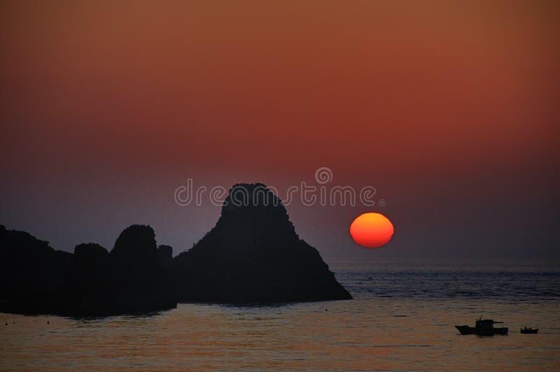 Aci Castello Sicily Italy - Creative Commons by gnuckx stock photo