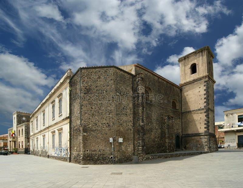 acicastello стародедовский строя catania Сицилия стоковое фото