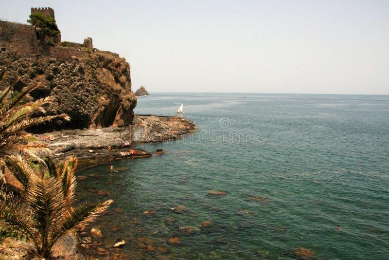 Acicastello стоковое фото