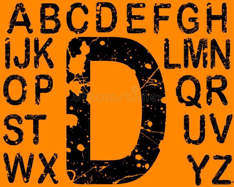Download Acid Letters A-Z stock vector. Image of painter, splash - 2802960