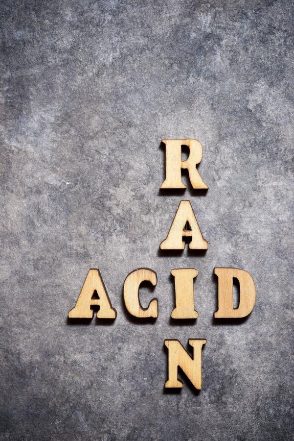 Acid rain paper