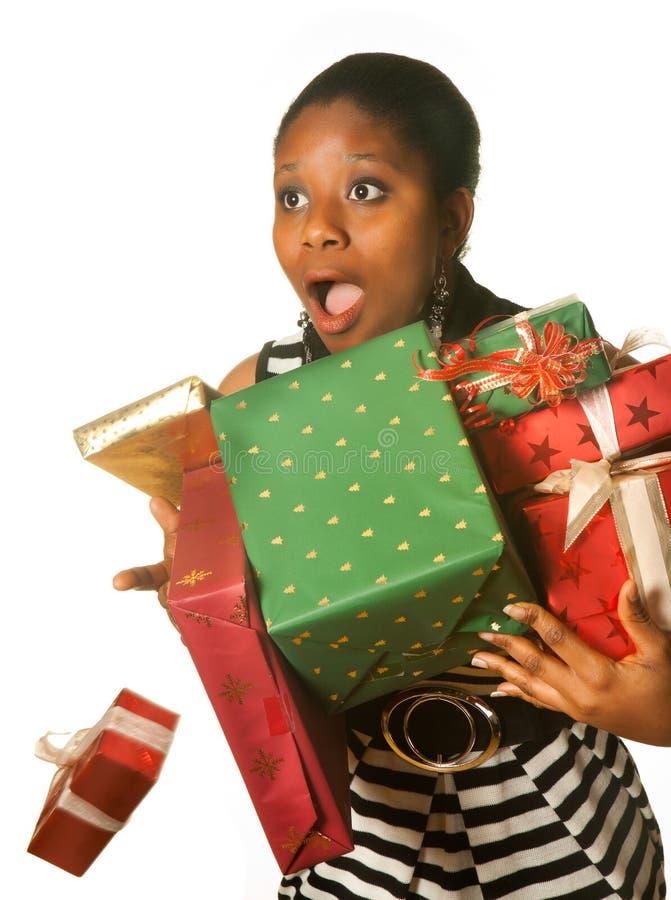 Acidente do Natal imagens de stock
