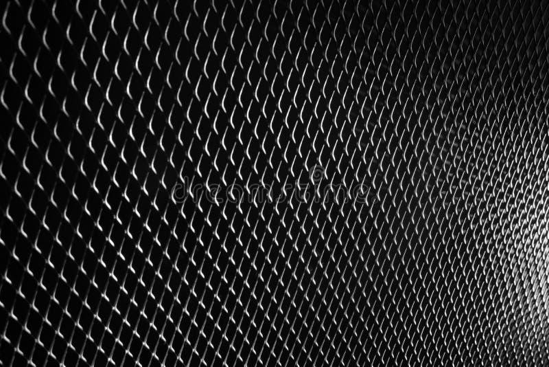 Acier noir en métal de noir de texture de modèle de fond en métal photos stock