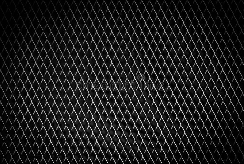 Acier noir en métal de noir de texture de modèle de fond en métal image stock
