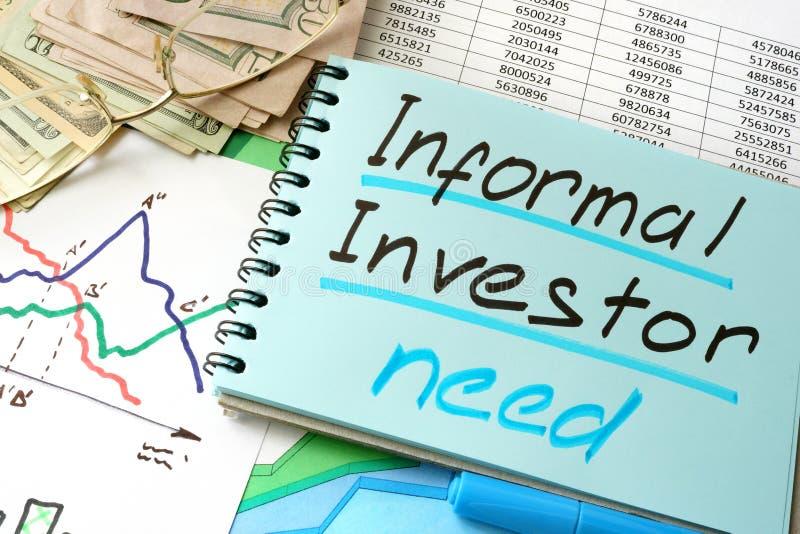 Acionista informal imagens de stock royalty free