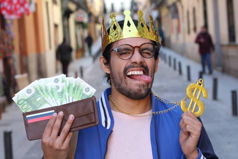 Acionista novo que faz um bom lucro imagem de stock royalty free