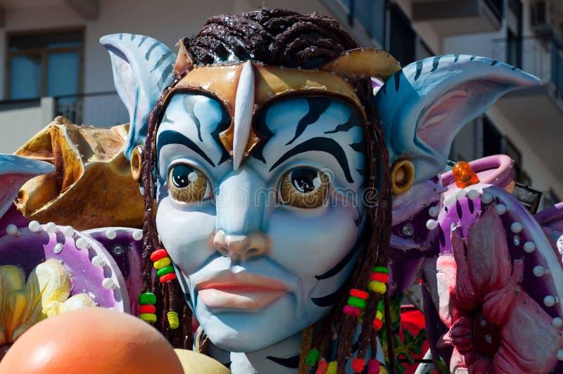 Acireale (CT) ELE carnevale 2011 imagem de stock royalty free