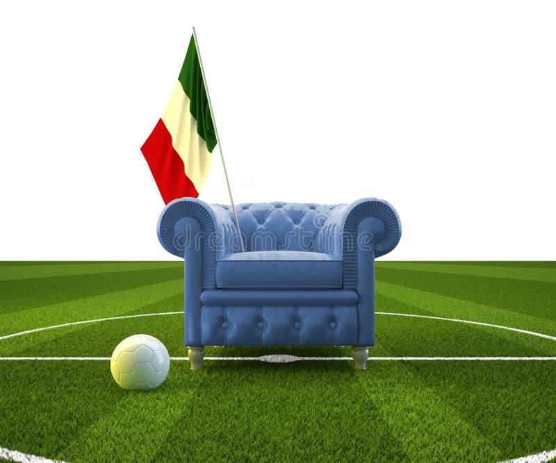 Aclamación de Italia ilustración del vector