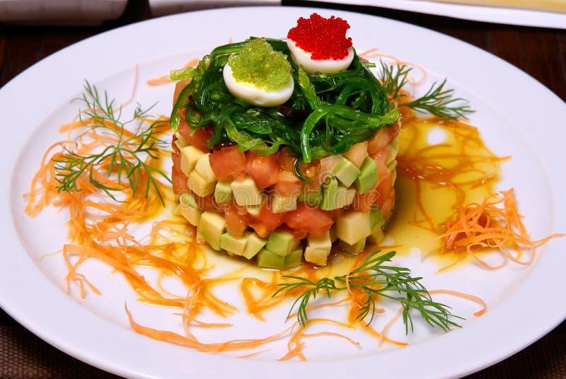 Acné de salade. photo stock