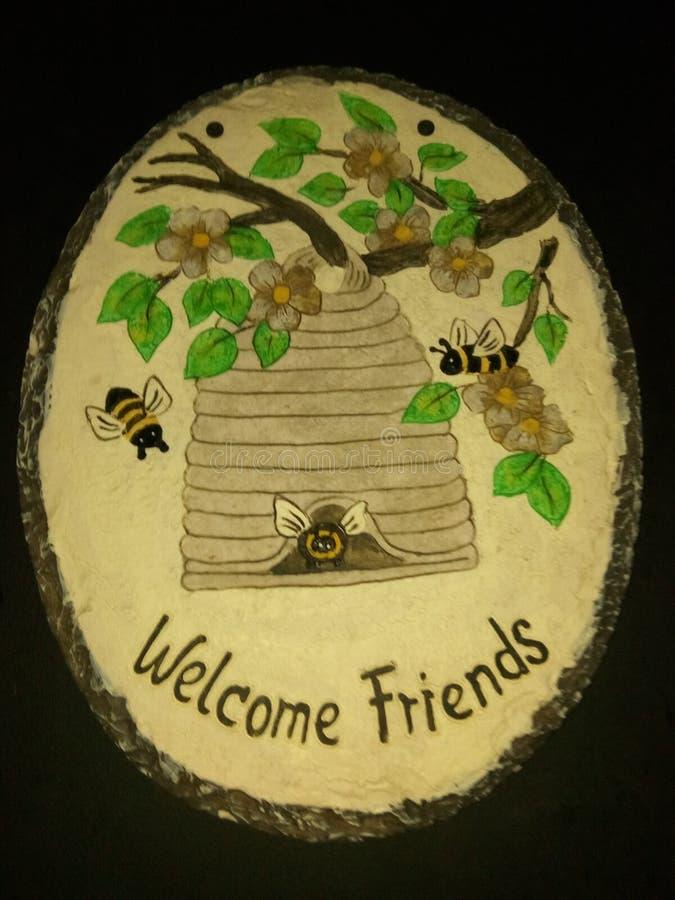 Acoger con satisfacción abejas foto de archivo