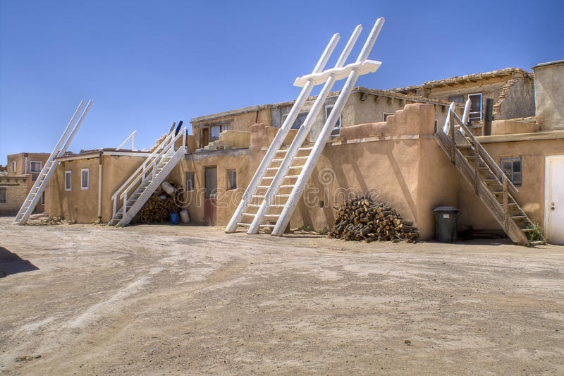 Acoma Sky City. Picture of Acoma Sky City in New Mexico stock images
