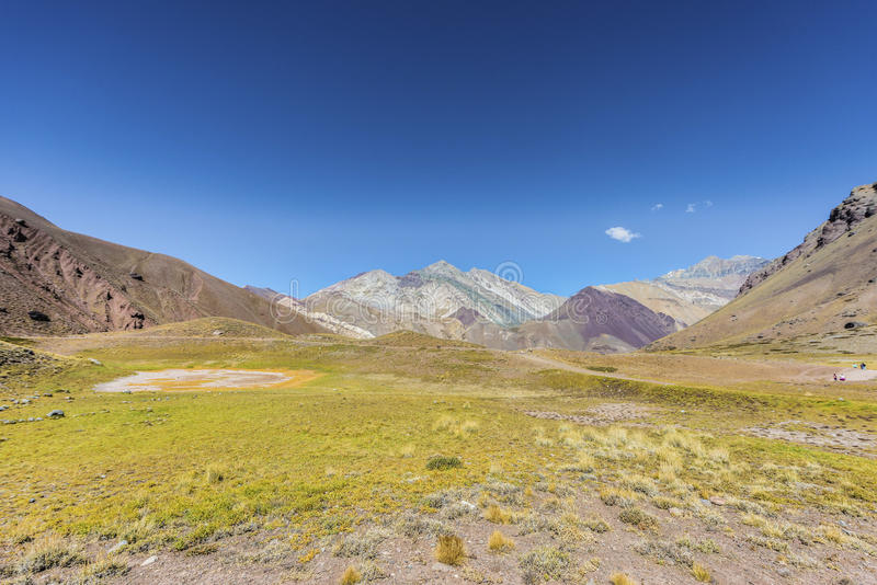 Download Aconcagua, In The Andes Mountains In Mendoza, Argentina. Stock Photo - Image of argentina, high: 39506102