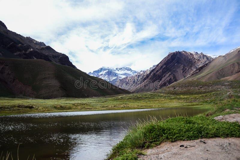Aconcagua, Argentina royalty free stock photos