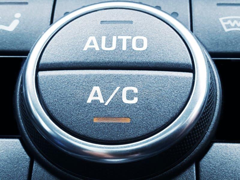Acondicionador de aire del coche imagen de archivo