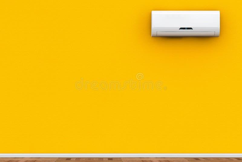 Acondicionador de aire moderno imagenes de archivo