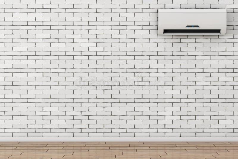 Acondicionador de aire moderno representación 3d stock de ilustración