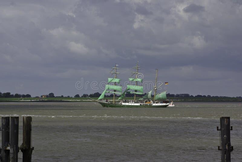 Acontecimiento de la vela - Alexander von Humboldt imagenes de archivo