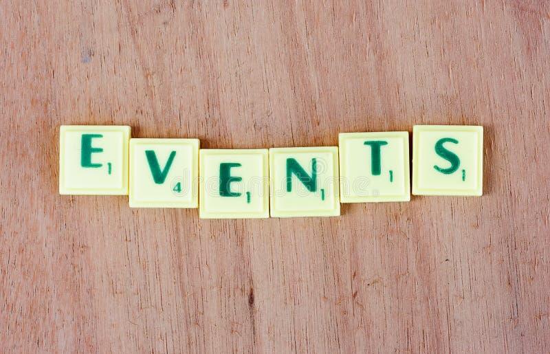 acontecimientos imagen de archivo