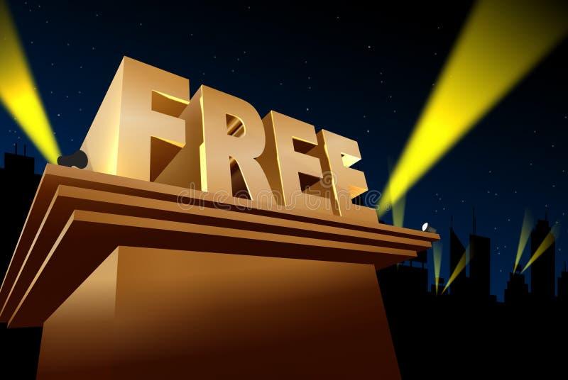 Acontecimientos de la promoción libre illustration