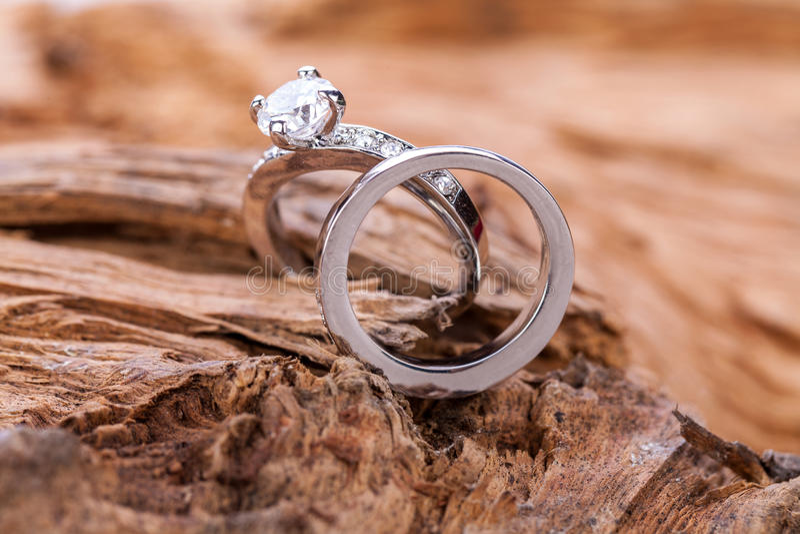 Acoplamento accessoiry da joia bonita do anel imagens de stock royalty free