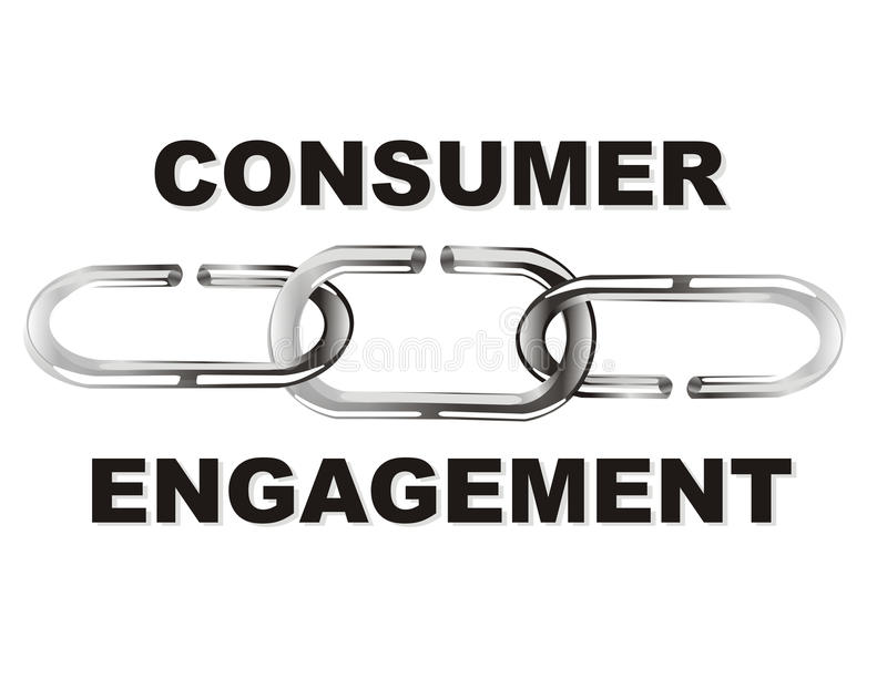 Acoplamento do consumidor ilustração do vetor