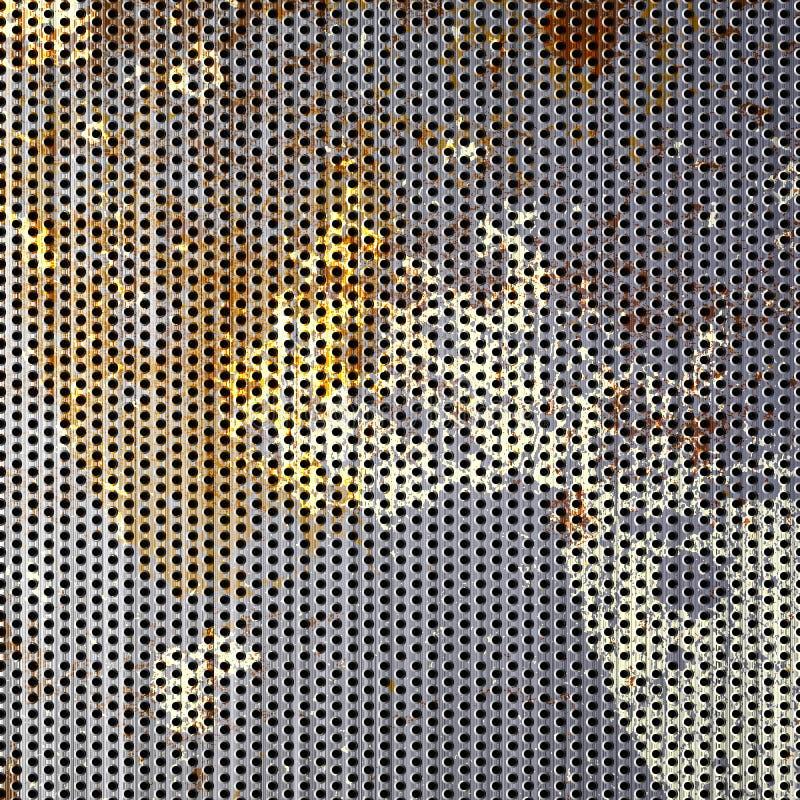 Acoplamiento aherrumbrado del metal ilustración del vector