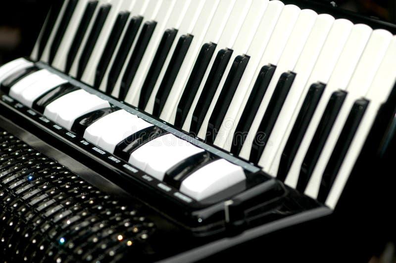 Acordión, instrumento musical imagenes de archivo