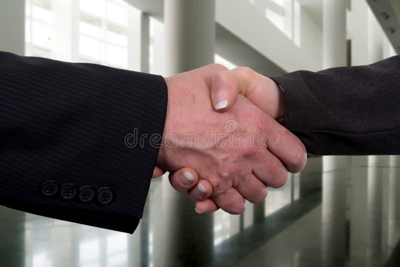 Acordo de Businness imagem de stock royalty free