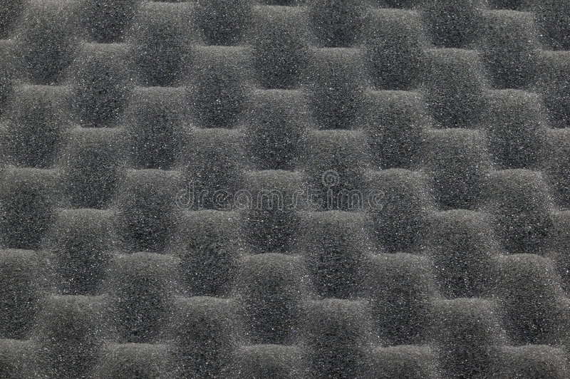 Acoustic foam royalty free stock images