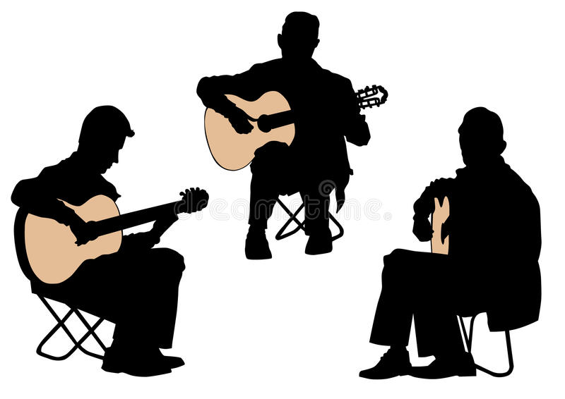Download Acoustic guitar stock vector. Image of isolated, performance - 12791702