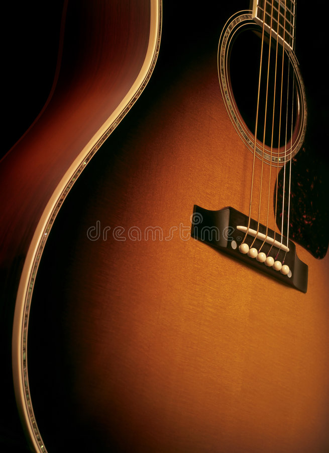 Free Acoustic Guitar 2 Royalty Free Stock Photo - 4059755