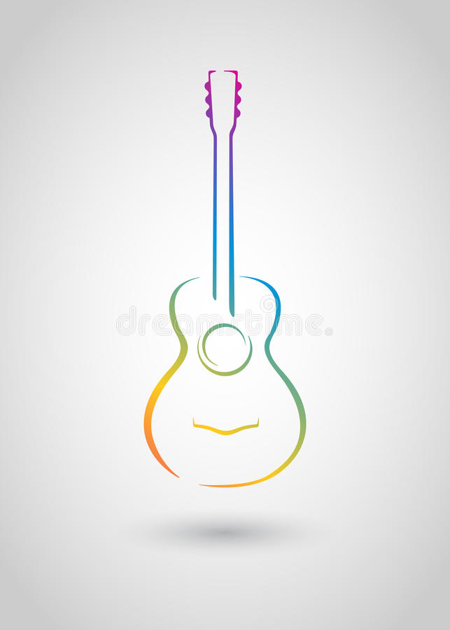Free Acoustic Guitar Stock Photo - 27202640