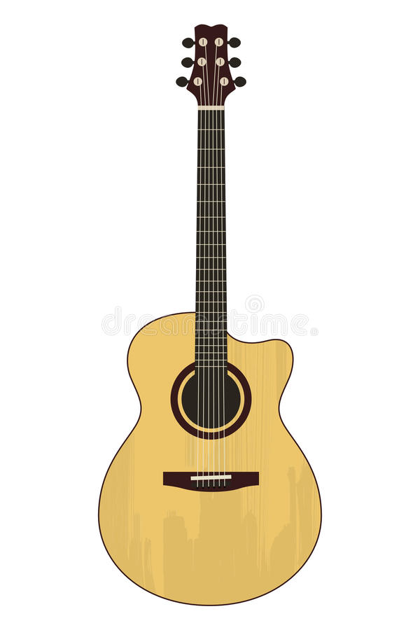 Free Acoustic Guitar Royalty Free Stock Images - 50744179