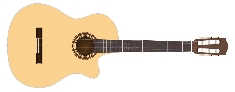 acoustic guitar ελεύθερη απεικόνιση δικαιώματος