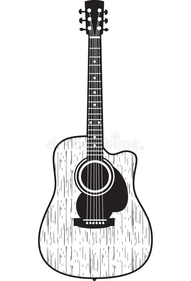 Free Acoustic Guitar Stock Photography - 9955622