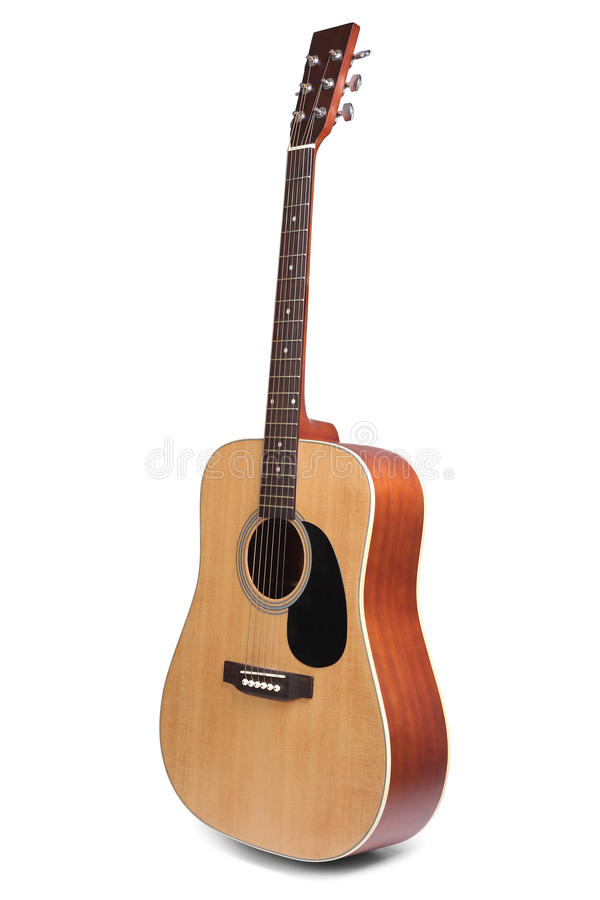 Free Acoustic Guitar Isolated Royalty Free Stock Photography - 70984307