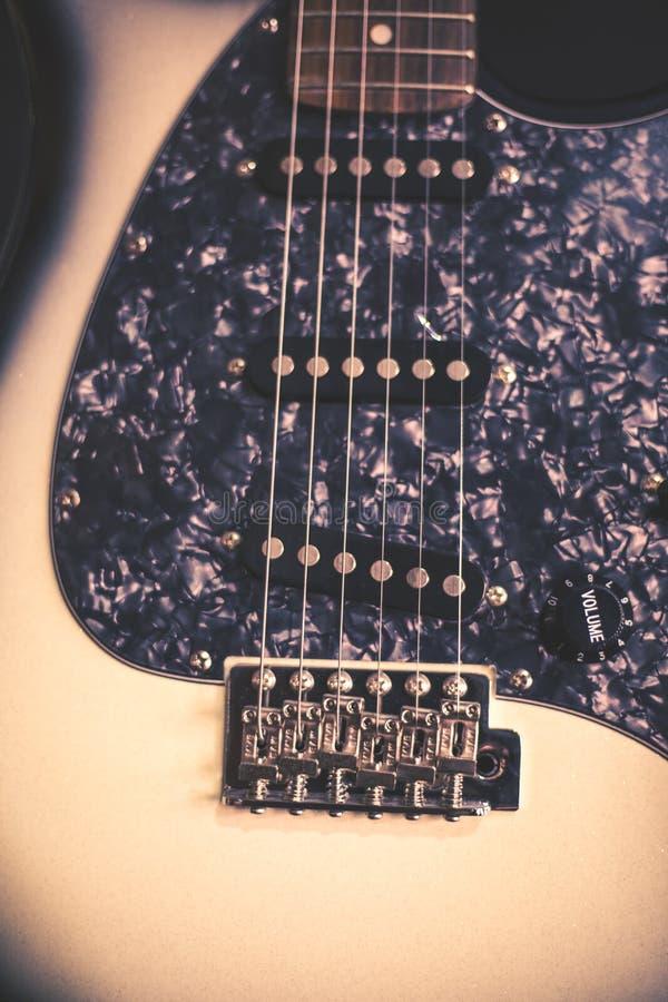 Guitar instrumental stock image  Image of entertainment